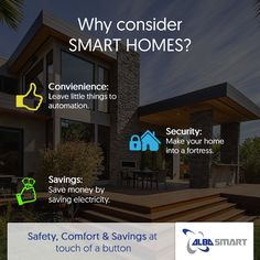 Smart home can definitely be worth opting for! #home