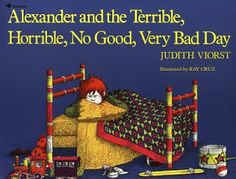 Alexander and the Terrible, Horrible, No Good, Very Bad Day. Essential reading, because we all have terrible horrible no good very bad days. Even in Australia. Best Children Books, Kids Story Books, Children Stories, Better Books, Back In The 90s, Leader In Me, Preschool Books, Music Activities, Preschool Literacy