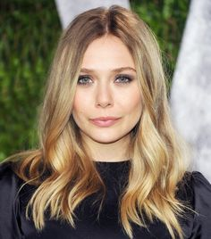 Ashley Olsen's soft blonde curls, smoky eye, and pink lip are so beautiful