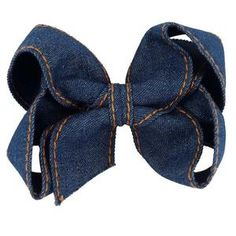 These big hair bows are perfect for your little girl. Need something to accent her ponytail?These bows include an alligator clip to securely attach to her hair. Denim Hair, Cute Dresses, Girls Dresses, Big Hair Bows, Head Accessories, Clothes For Sale, Her Hair, Ponytail, Little Girls