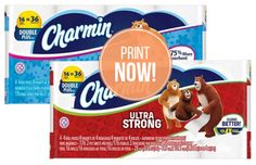 Charmin Toilet Paper 16-Pack, $5.99 at Target, Starting 1/17!