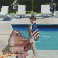 """Artspace's editor-in-chief Loney Abrams speaks with painter Eric Fischl about """"Late America,"""" his current show at Skarstedt Gallery, his deep concern for a post-election nation in decline, and a renewed optimism for art's ability to heal. Neo Expressionism, Mark Rothko, Male Figure, New Shows, Figure Painting, Painting People, American Artists, Contemporary Art, Modern Art"""
