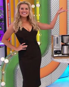 Air date Amber Lancaster, Rachel Reynolds, Price Is Right, Hot Blondes, Celebs, Celebrities, Bodycon Dress, Models, Sexy