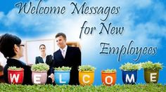 welcome messages for new employees