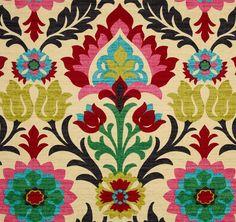 "Bright Home Decor, Southwestern Drapery Panels, Multi-Colored Drapes, Desert Flower Custom Curtains, Rod-Pocket Curtains, One Pair 50""W on Etsy, $229.95"