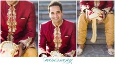 I confess, red is definitely more fun to photograph then black!  See all the rest of the amazing colors at this Indian American wedding here: