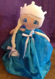 Handmade Winter Princess Doll by AnnPedenJewelry on Etsy