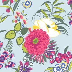 Colours Cocktail Floral Wallpaper | Departments | DIY at BQ