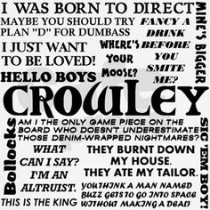 Crowley | Supernatural
