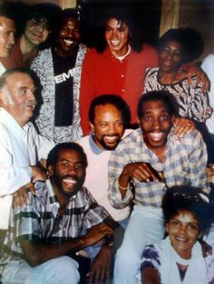 Michael Jackson, Quincy Jones, Bruce Swedien, Greg Phillinganes and other people