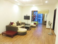 Modern apartment for rent in Times City, Minh Khai street, 83sqm, 2 bedrooms, full-furnished, 650usd/month.