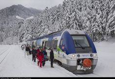 RailPictures.Net Photo: SNCF X 76500 at Le Lioran, France by Pierre-Louis Espinasse