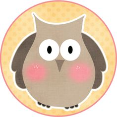 MAKE YOUR OWN CUTE DECORATION - Funny Owls #4