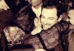 Aidan Turner and @EvangelineLilly at the Hobbit Premiere in Berlin. Love them!!! <3