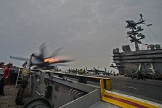SOUTH CHINA SEA (June 14, 2014) An F/A-18F Super Hornet from the Diamondbacks of Strike Fighter Squadron (VFA) 102 launches from the flight deck of the Nimitz-class aircraft carrier USS George Washington (CVN 73). (U.S. Navy photo by Mass Communication Specialist 1st Class Trevor Welsh/Released)