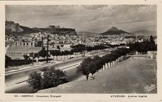 1905. Athens, Sygros Avenue, view from Agios Sostis.