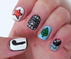 The Procrastinating Polishr: Super Mario Bros 3 nail art