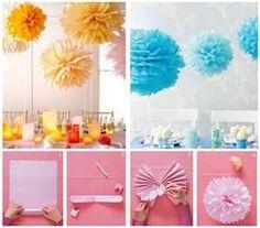 Ideas creativas para hacer de tu celebración toda una atracción visual.
