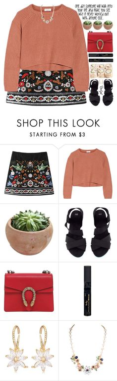 """""""kiss a puppy, hug somebody, give love"""" by exco ❤ liked on Polyvore featuring Brunello Cucinelli, H&M, Gucci, Reviva Labs, clean, organized and rosegal"""