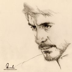 Tony Stark by kleinmeli.deviantart.com