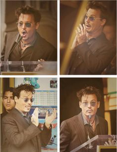 Johnny Depp silly guy