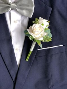 Blush Wedding Flowers, Silk Wedding Bouquets, Blush Roses, Flower Bouquet Wedding, Floral Wedding, Blush Pink, White Rose Boutonniere, Rustic Boutonniere, Groomsmen Boutonniere