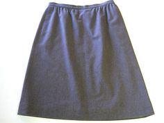 Pendleton Wool Skirt Tag Size 16 Runs Small 12 Purple Fully Lined  #Pendleton #ALine
