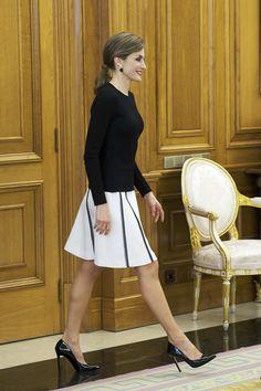 Royals & Fashion: Audience au palais de la Zarzuela, Madrid