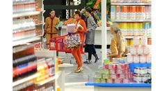 Karl Lagerfeld Stages Chicest Supermarket Ever at Chanel