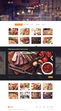 Web design / Eureka – Multipurpose PSD Template