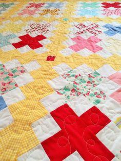 Cross Stitch quilt pattern by Gigis Thimble