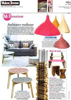 Mademoiselle Dimanche Maison & Travaux Mars 2014