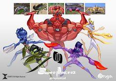 SUPER PINCERZ SQUADRON by zeoarts.deviantart.com on @deviantART