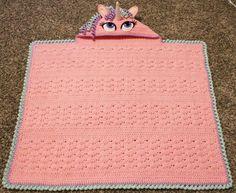 Het perfecte cadeau voor de kids: Maak nu zelf deze gehaakte Unicorn deken. Met GRATIS haakpatroon! - Zelfmaak ideetjes