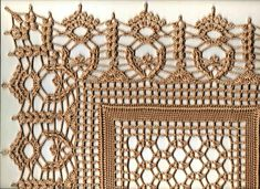 Crochet Art, Crochet Motif, Crochet Doilies, Crochet Stitches, Free Crochet, Crochet Patterns, Crochet Table Runner, Crochet Baby Shoes, Crochet Diagram