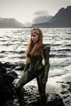 Amber Heard as Mera, in Justice League