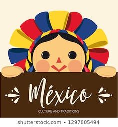 Mexico Art, Mexican Party, Decoupage, Traditional, Templates, Dolls, Folklore, Gouache, Illustration