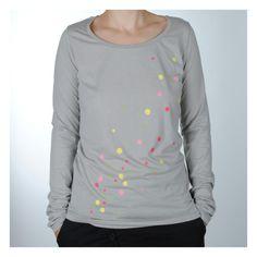 "longsleeve ""dots"" (opal) Hoodies, Sweatshirts, Organic Cotton, Opal, Dots, Long Sleeve, Sleeves, Sweaters, Mens Tops"