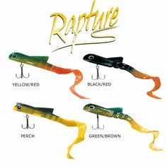 Esca Artificiale Rapture Dancer Creature - EUR 8.20