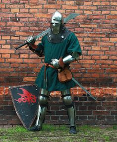 And this is me, XIV/XV century knight. Poland, Oława by Liczman