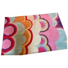 Modern Wool Cumulous Rug - 5′ × 7′ ($350) ❤ liked on Polyvore featuring home, rugs, wool pile rug, modern wool area rugs, modern wool rugs, wool area rugs and modern area rugs