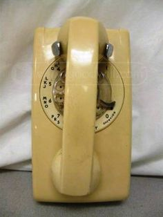 Western Electric Bell Rotary Phone...This was the most used phone in the house. It was the exact same in our kitchen with what seemed to be a 20ft. cord! Lol the good ol' days! ~Sabrina M.