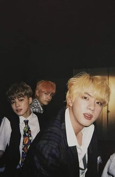 Seokjin slaying my life while Taehyung & Jimin doesn't even look like Taehyung & Jimin 😂😂 ©️ Seokjin, Kim Namjoon, Jung Hoseok, Bts Bangtan Boy, Bts Boys, Bts Jimin, Photo Polaroid, Bts Polaroid, Polaroids