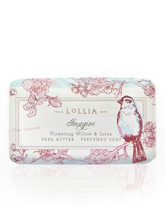 Imagine Shea Butter Soap by Lollia at Neiman Marcus.