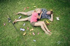 """""""Gone Fishing"""" engagement photoshoot"""