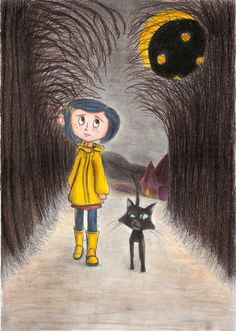 Coraline drawing