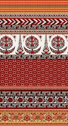kalamkari designs: 14 thousand results found on Yandex. Textile Pattern Design, Textile Patterns, Textile Prints, Pattern Art, Print Patterns, Boarder Designs, Border Embroidery Designs, Border Pattern, Border Print