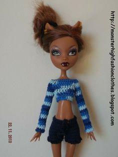 Ropa Monster High s132 von My Monster High boutique auf DaWanda.com