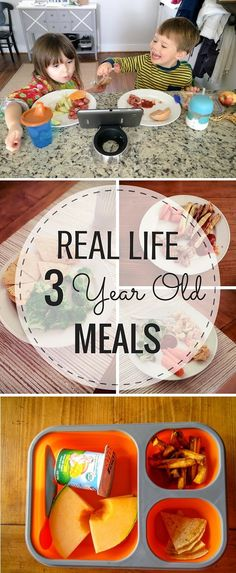 Real Life 3 Year Old Meals 2B