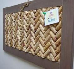 Cork board idea